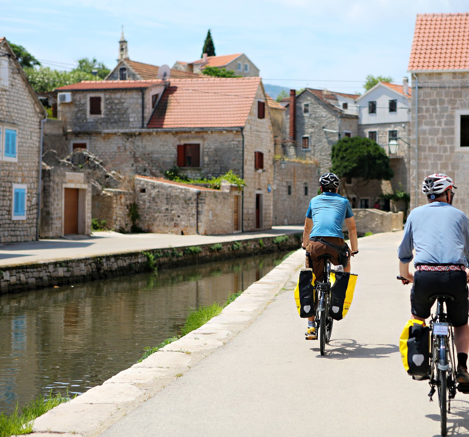 Croatia bicycle tour