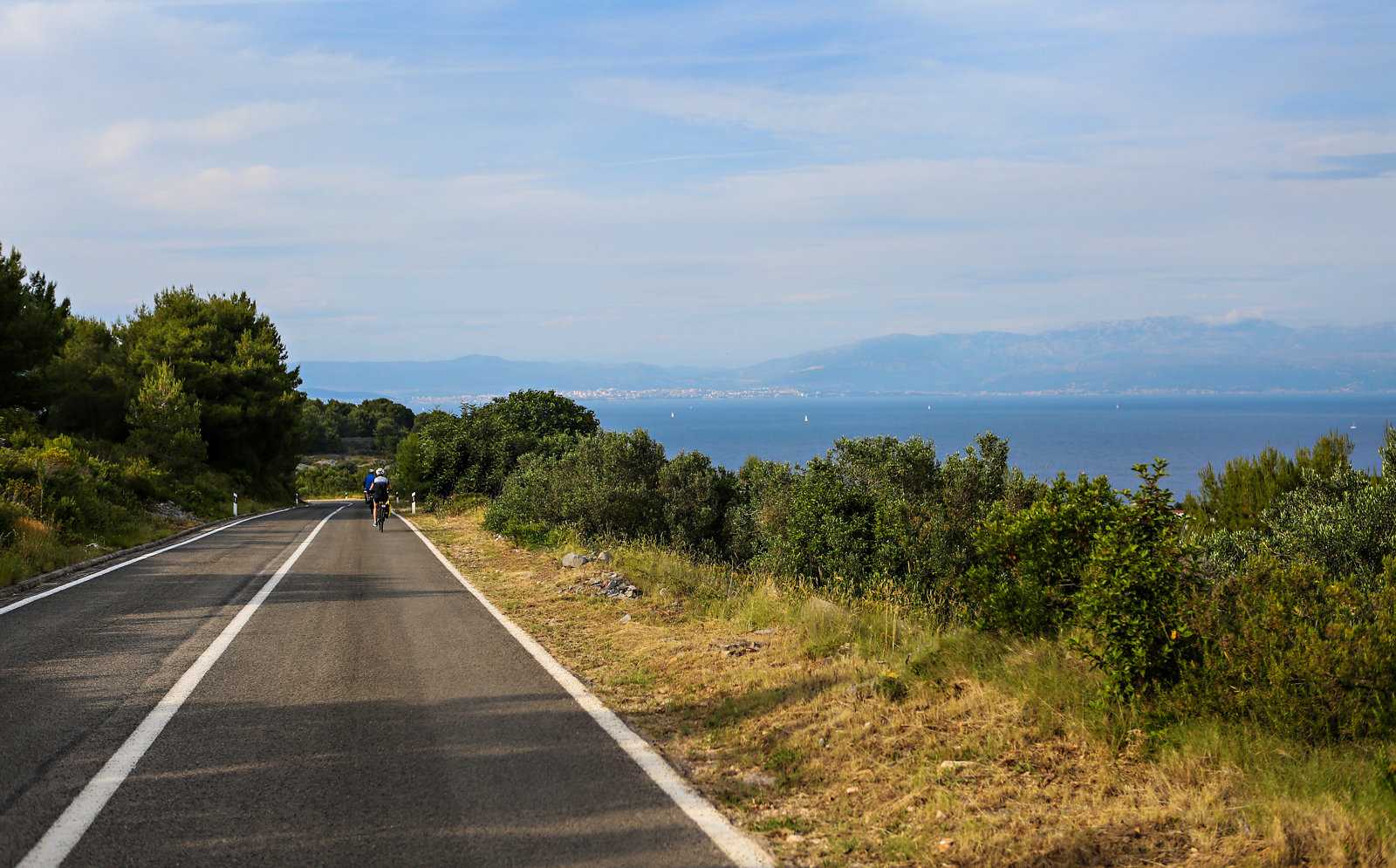 cycling tour in Croatia