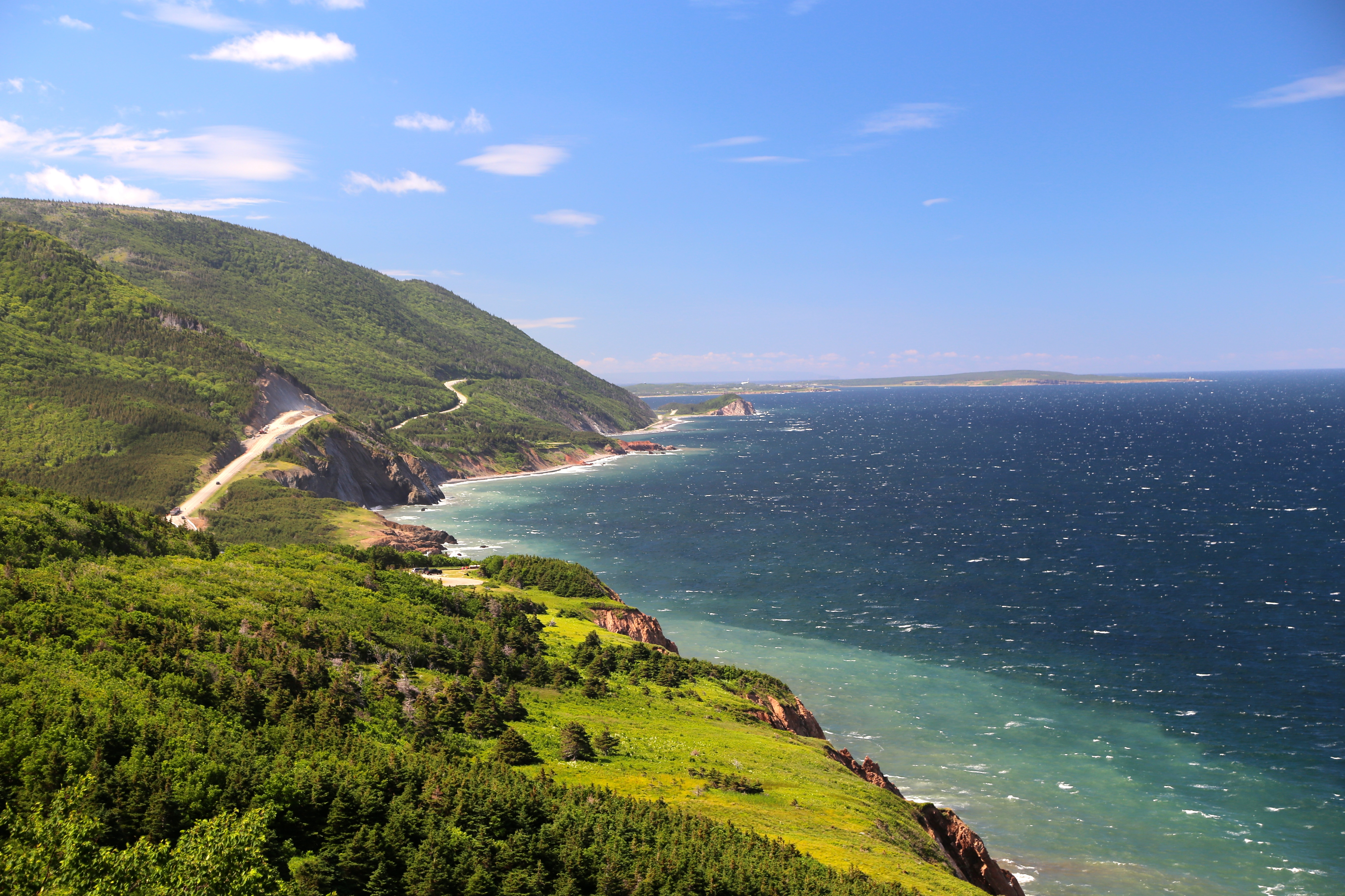 Nova Scotia Cabot Trail bicycle tour