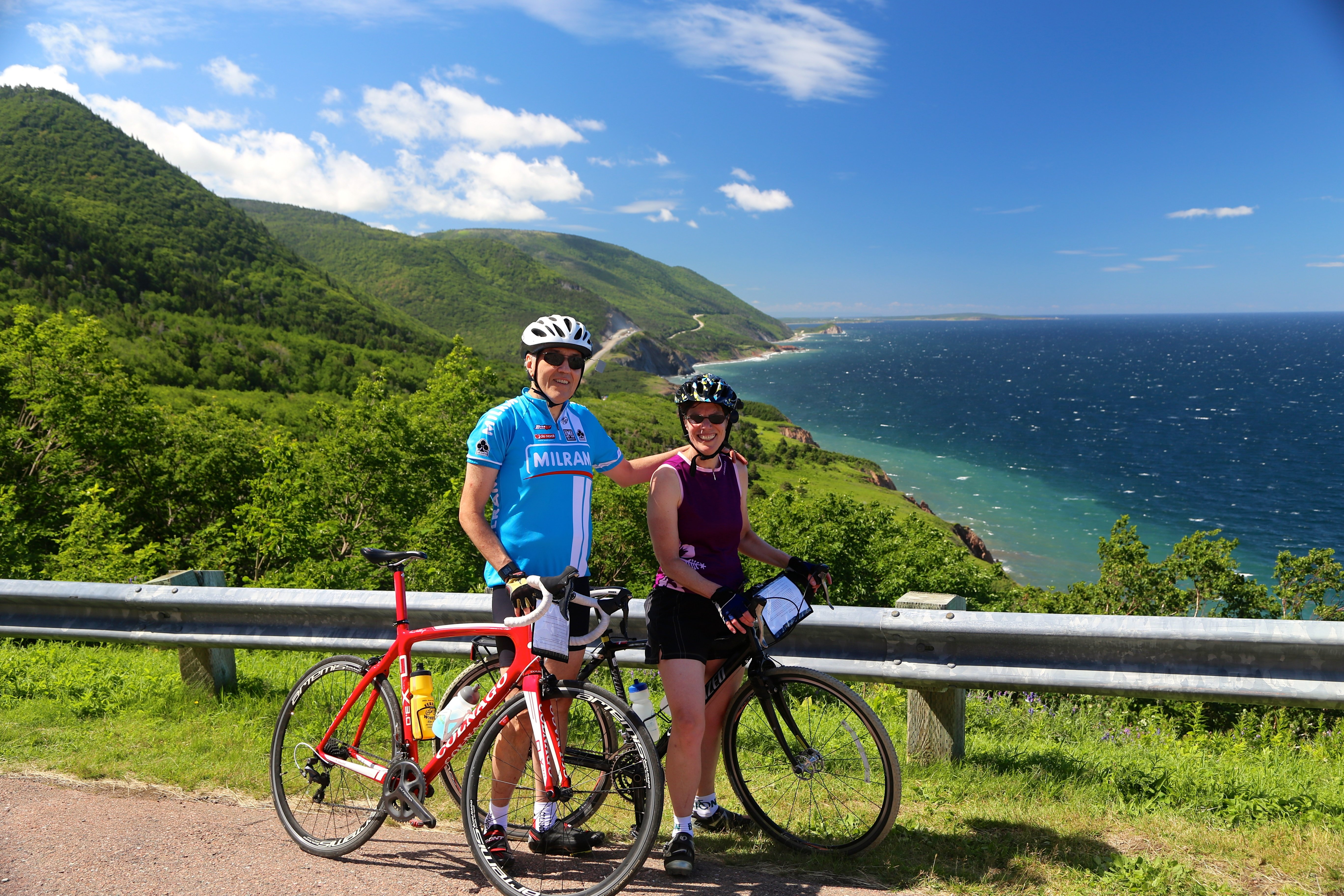 Nova Scotia cycling tour