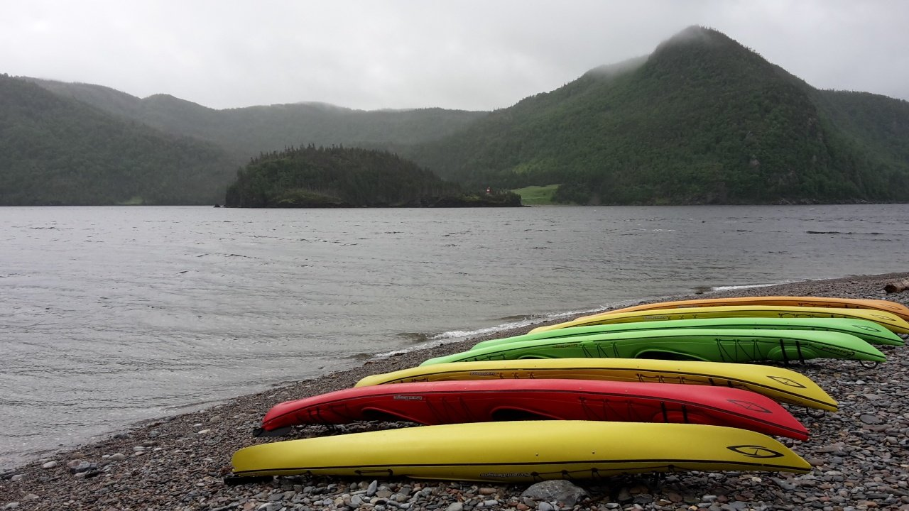 Newfoundland bicycle and kayak tour