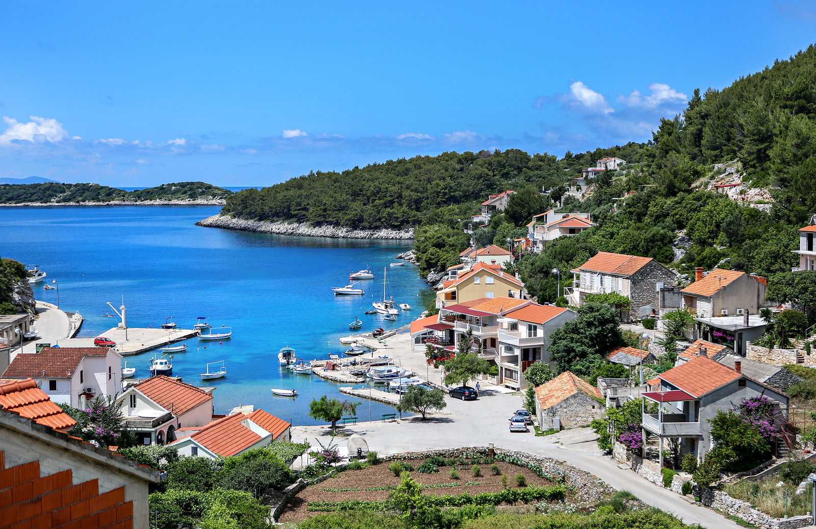 Croatia bicycle and boat tour