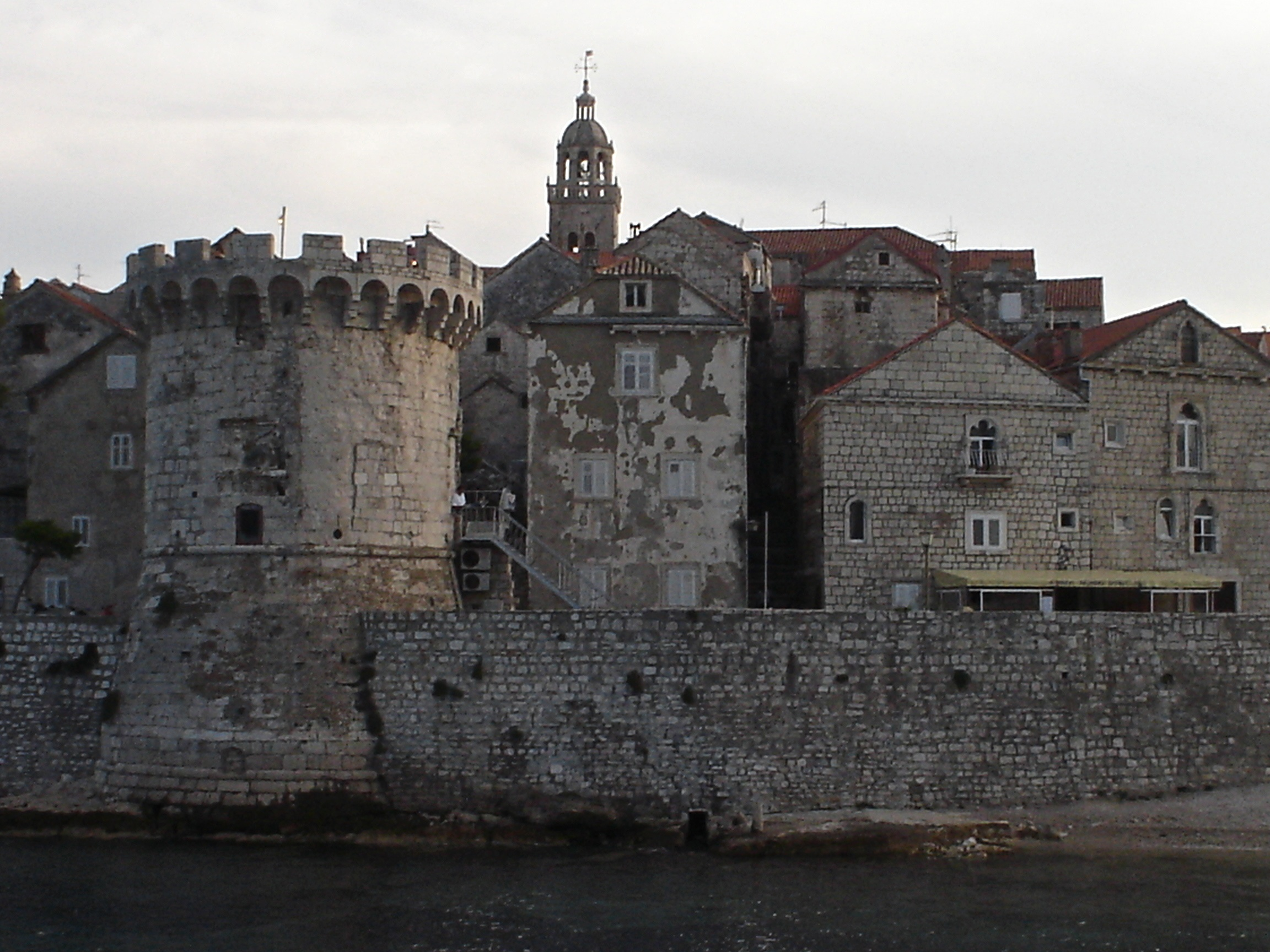 Croatia south dalmatia bike tour castle