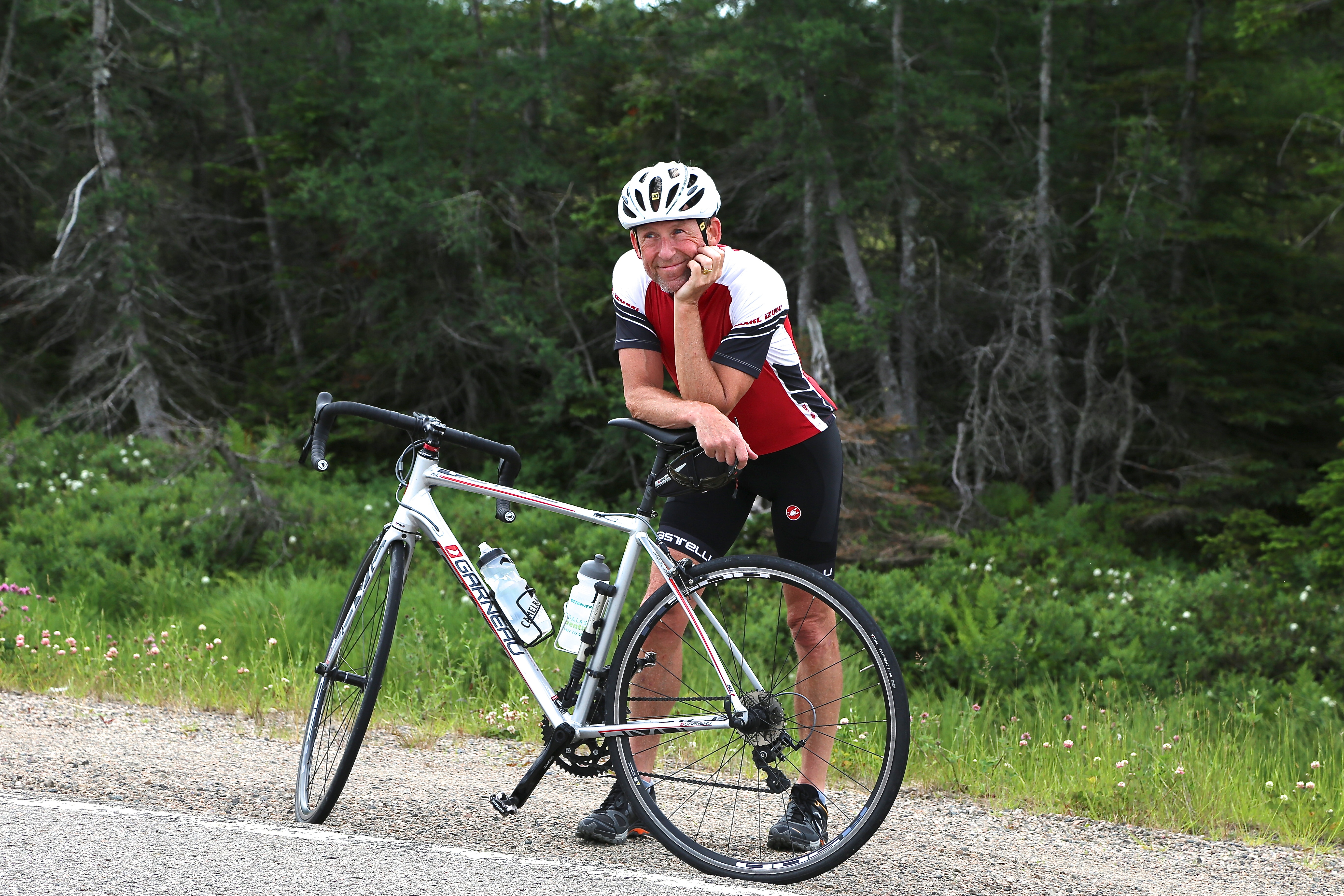 Cabot trail bike tour road biker