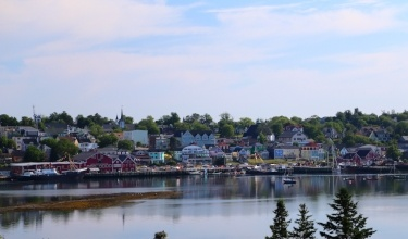 Cycling Lunenburg on the South Shore