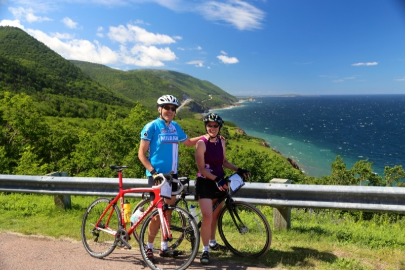 Cabot trail nova scotia bicycle tour
