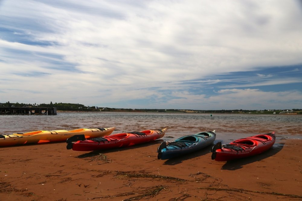 Prince Edward Island bicycle tour kayak tour
