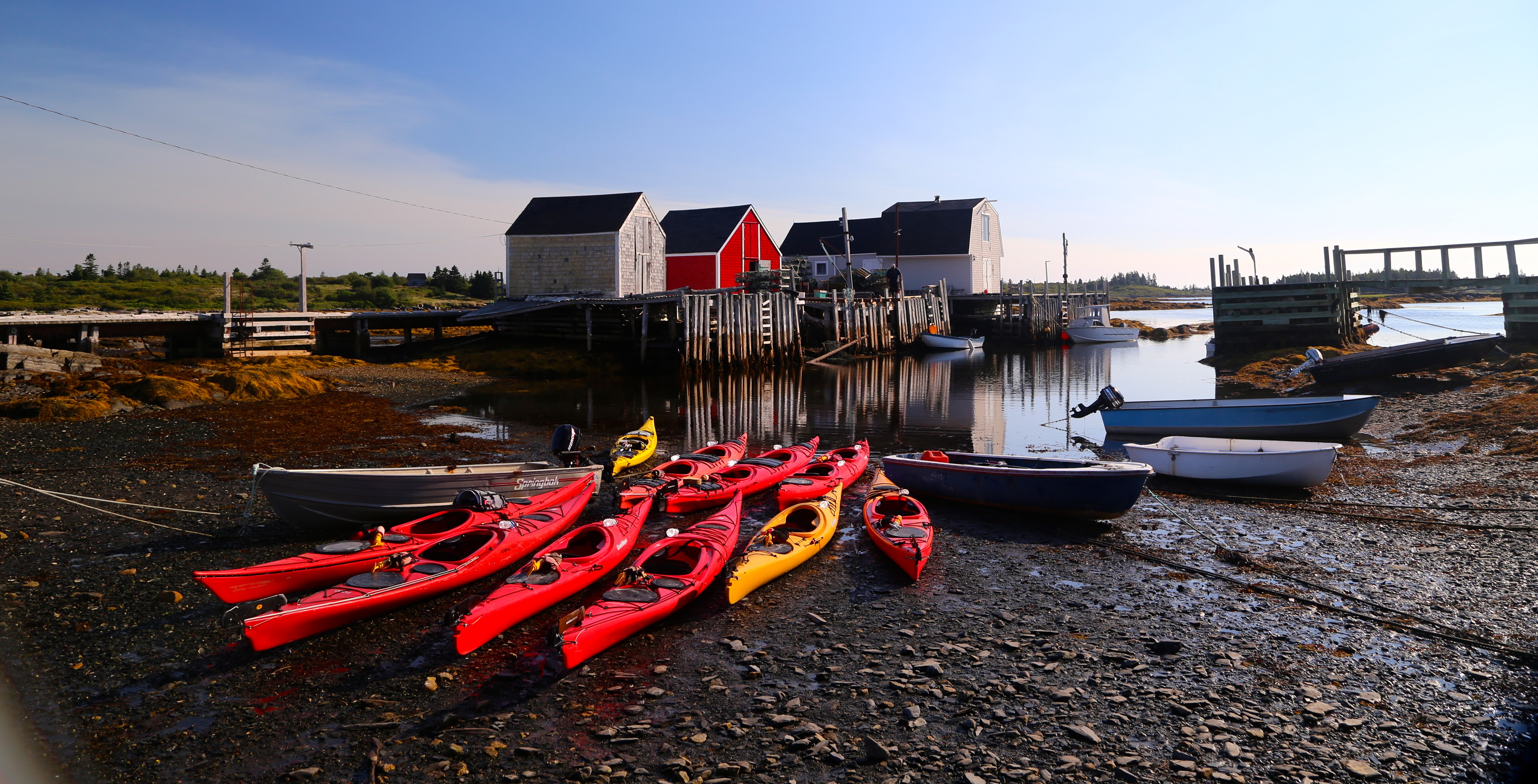 Nova scotia bicycle tour kayaking