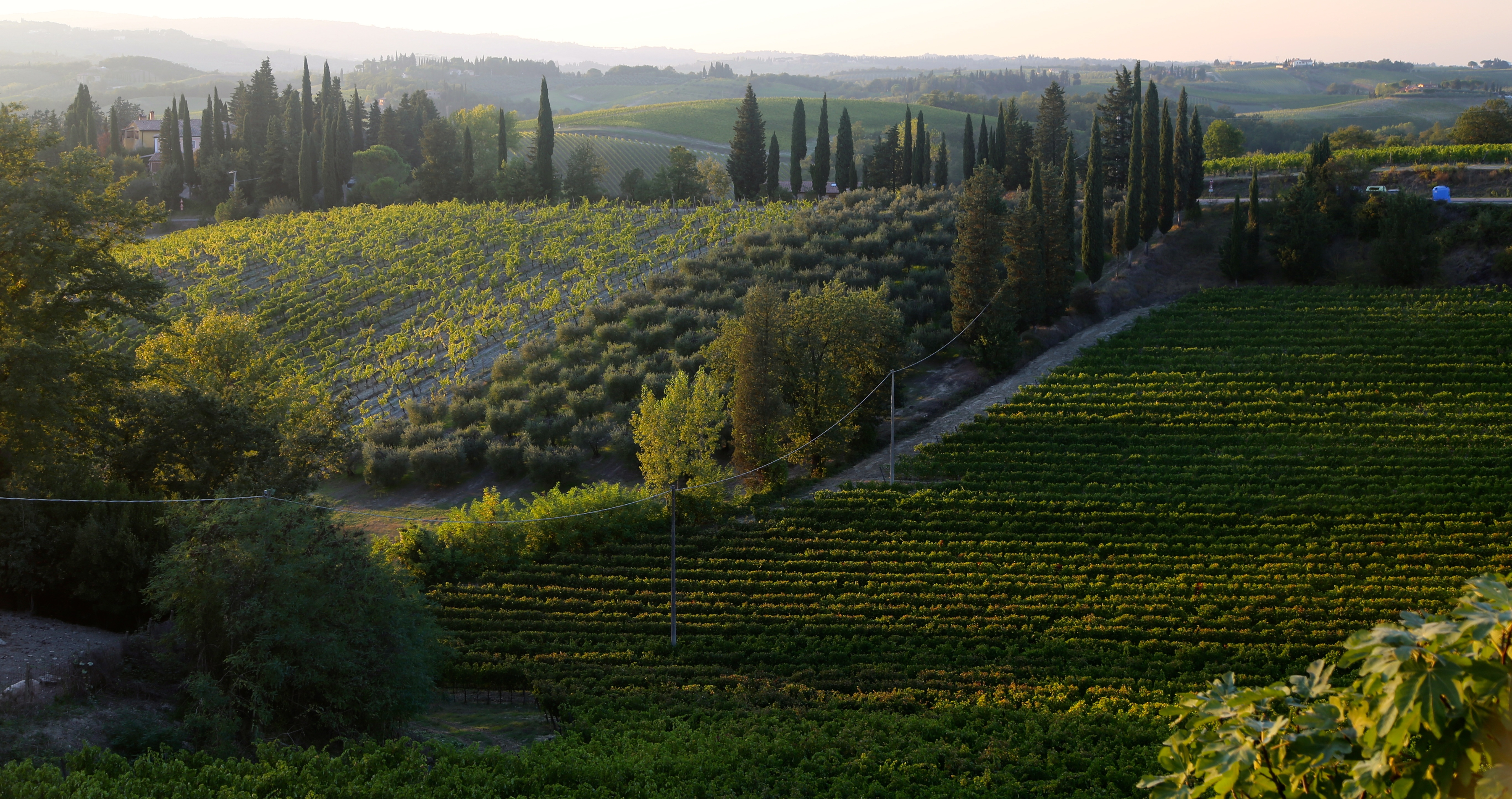 Tuscany Italy bicycle tour
