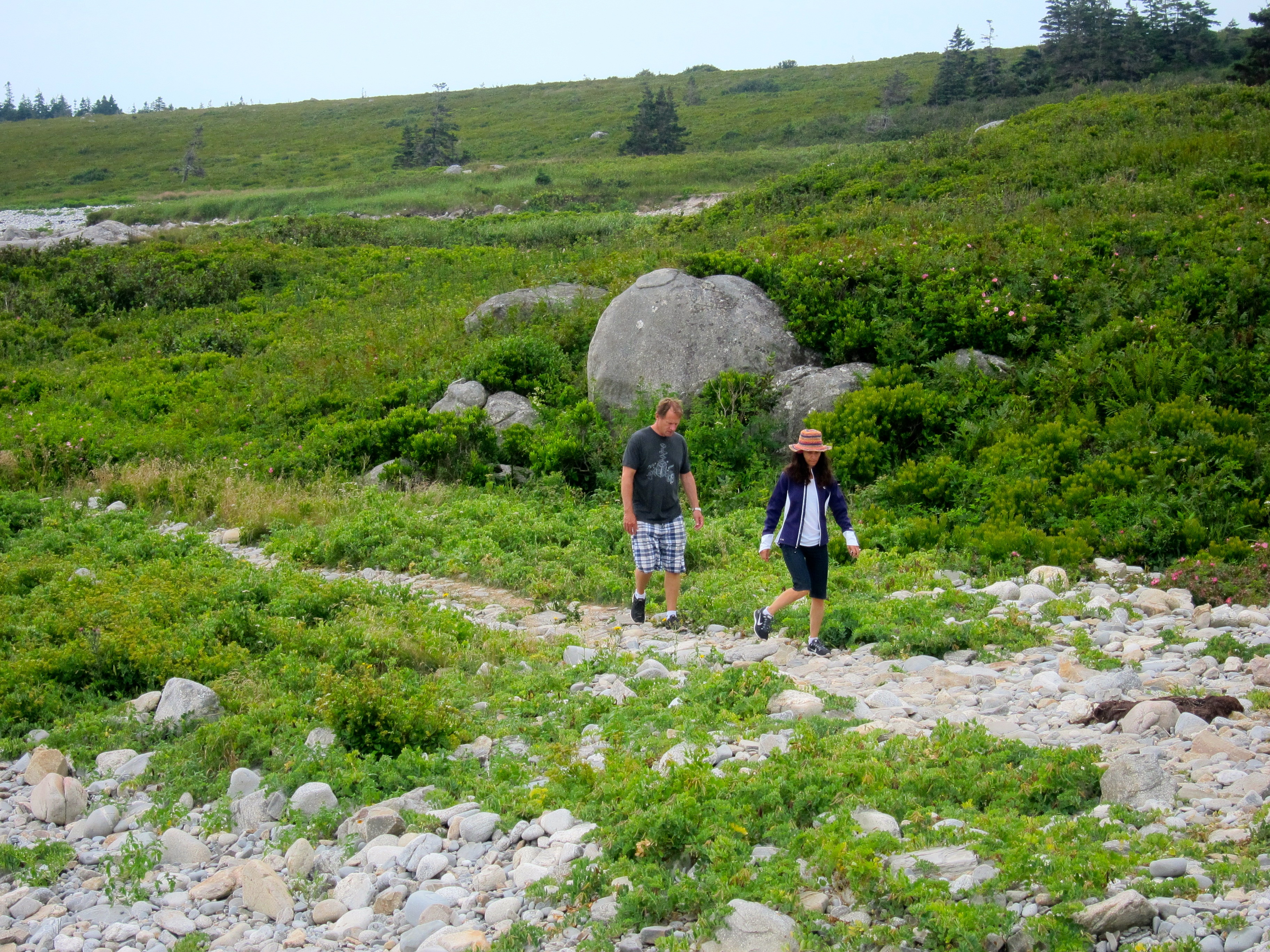 Nova Scotia Lunenburg bike tour hiking trail