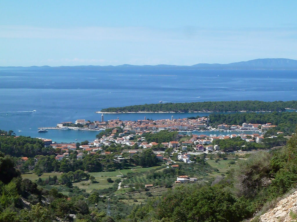 Northern Croatia cycling tour ocean view